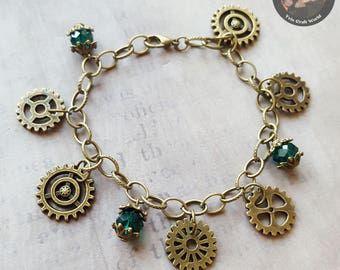 "Bracelet ""Steampunk"""