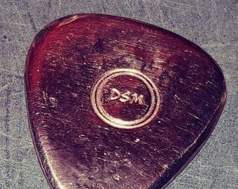 12k Gold guitar pick hand poured