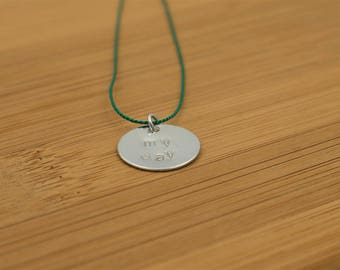 My Day: Necklace Green