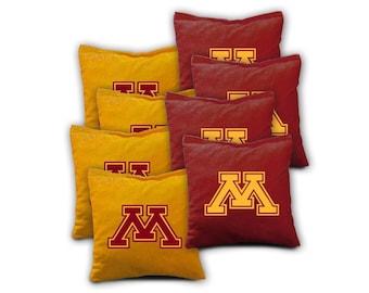 Minnesota Golden Gophers Cornhole Bags - Set of 8