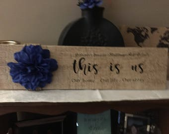 This Is Us family tile