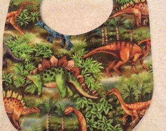 Dinosaur Baby Bibs