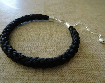 Zephyr - Horsehair Bracelet with Sterling Silver
