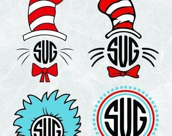 dr seuss svg files etsy rh etsy com Dr. Seuss Printable Characters Dr. Seuss Graphics