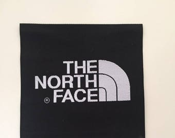 The North Face Black Label arm Patch TNF Sew on/Glue on