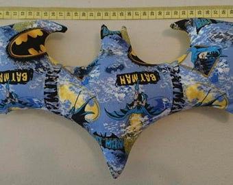 Bat symbol batman pillow