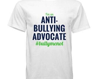 Bullymenot Tee - Anti-Bullying Advocate
