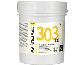 Naissance Organic Cocoa Butter Unrefined 3.5 oz.
