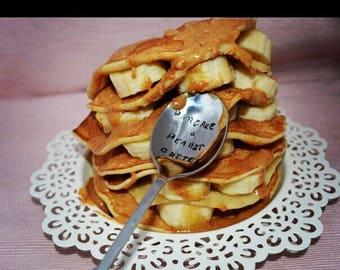 """Spoon """"pancake & peanut butter"""""""