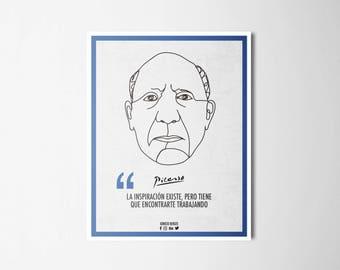 Ilustrattion-Influencers Pablo Picasso