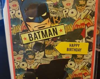 DC Batman Birthday Card