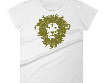 Big Kat co Women's short sleeve t-shirt and art urban wear