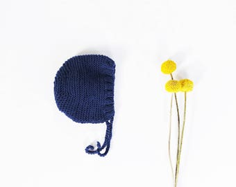Bonnet merino wool