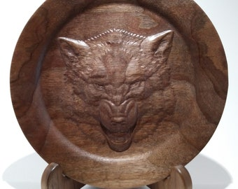 Wooden Decorative Plate