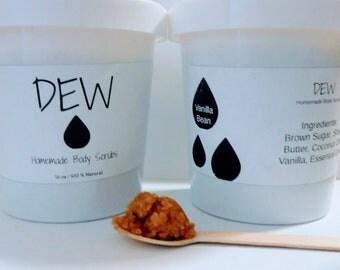 Vanilla Sugar Scrub by DEW