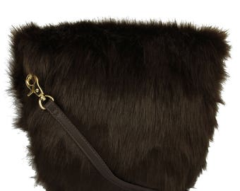 Fur Crossbody Bag