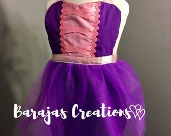 Rapunzel Tangled Inspired Birthday, Dress Up Apron