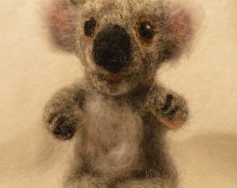 Needle Felted Koala Bear, Koala