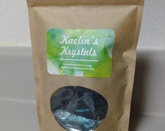 Blueberry Hard Candy Kaelin's Krystals Homemade Rock Candy