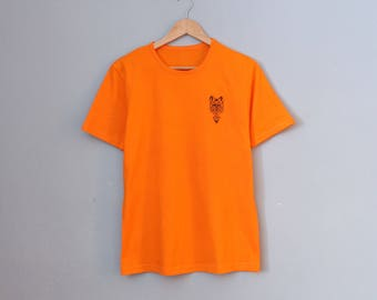 """T-shirt with embroidery """"wolf"""""""