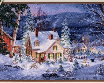 """Dimensions Gold Collection Counted Cross Stitch """"Winter's Hush"""""""