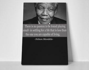 Nelson Mandela Poster or Canvas