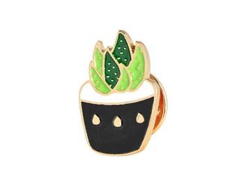 Aloe vera cactus badges