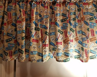 Route 66 Valance