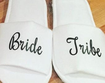 Bride tribe slippers