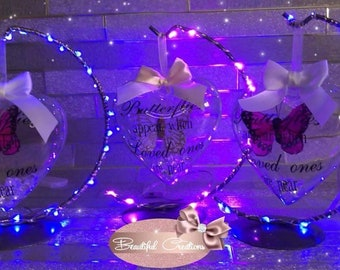 Butterfly Memorial Bauble