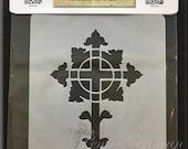 "Celtic Cross Stencil 5""x7"""