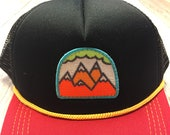"""Infant/Toddler Trucker Hat with """"5 Peak Mountain&q..."""