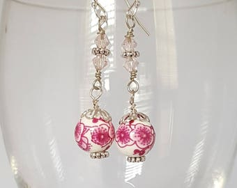 Pretty Floral Earrings