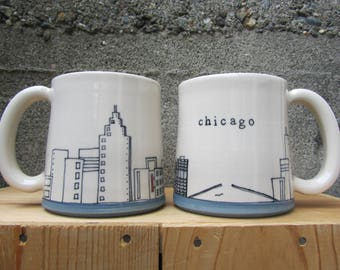 MADE TO ORDER ~ Chicago Mug
