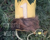 The Original Where the Wild Things Are Crown, Max Crown, Wild Things Crown, Wild One, Wild Things Birthday, Wild Things Party Supplies
