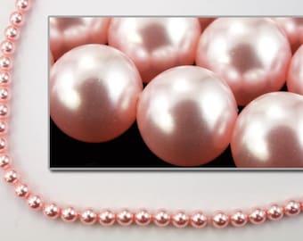 Swarovski 5810 3mm Rosaline Pearl