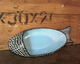 Modern FISH serving dish tray