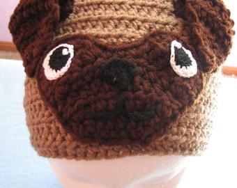 Pug Hat - Animal Hat - Dog Hat - Pug Lover Gift - Dad Hat - Women's Hat - Dog Lovers Gift - Custom Hat