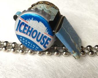 Whistle RUSTY | Bottlecap Whistle | Noise Maker | Toy Whistle | Snow Flake | Ice | winter | House