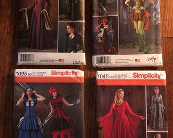 COSTUME pattern Bundle by im.butterflycreations sz 6-14