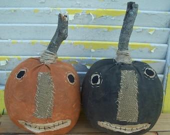 CustomerAppreciationSale Primitive Halloween Pumpkins