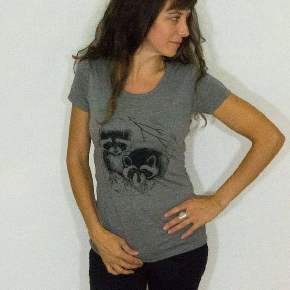 Women's Raccoon Tee Shirt