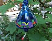 Custom order for HrdCandy15 - Hummingbird Feeder - Blown Glass
