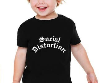 Social Distortion Baby or Toddler Gift T-Shirt & Optional Gift Box