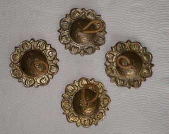 Vintage Zils Finger Cymbals Brass