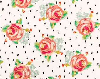 Shopping Cart Cover - Boutique Shopping Cart Cover for Baby Girl  - Roses