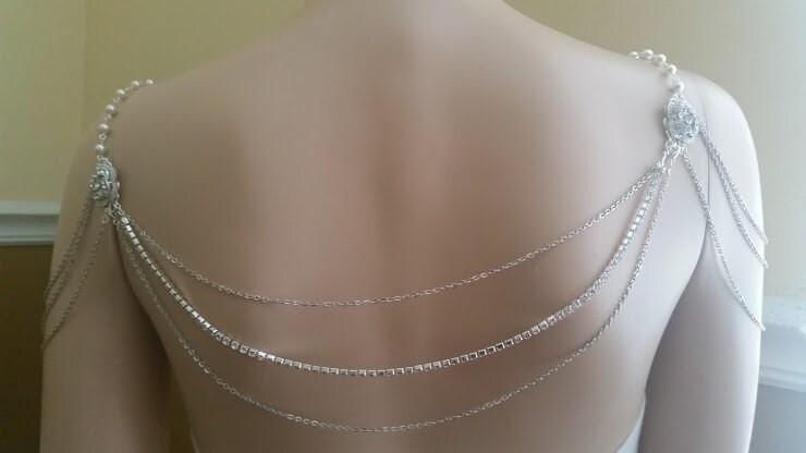 wedding shoulder jewellery