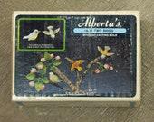 Ceramic Mold Vintage Tiny Birds New in Box Drawer Pulls or Tiny Ornaments Alberta's Mold