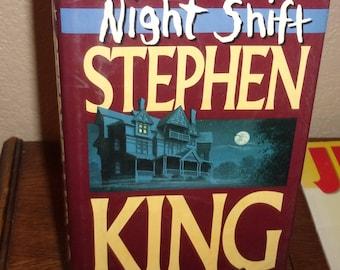 Night Shift-Stephen King-Hardback Book w/DJ-1st Ed/14th printing-1978