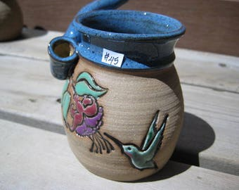 Hummingbird and Fuchsia Small Wake & Bake Mug ... Mug and a PIPE MUG AWESOME! ......